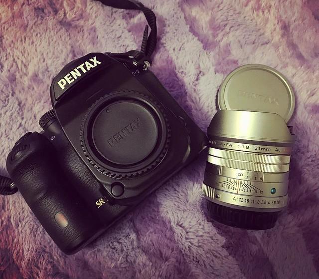 Pentax FA 31mm f1.8 小公主追星