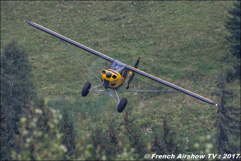 HORUS AERO Carbon Cub F-PCCE 50ans d'Aviation Megeve 2017 - altiport de Megève , Haute-Savoie, Auvergne-Rhône-Alpes , Meeting Aerien 2017