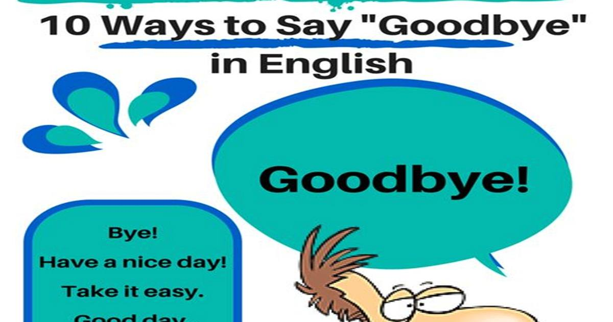 "Other Ways to Say ""Goodbye"" 5"