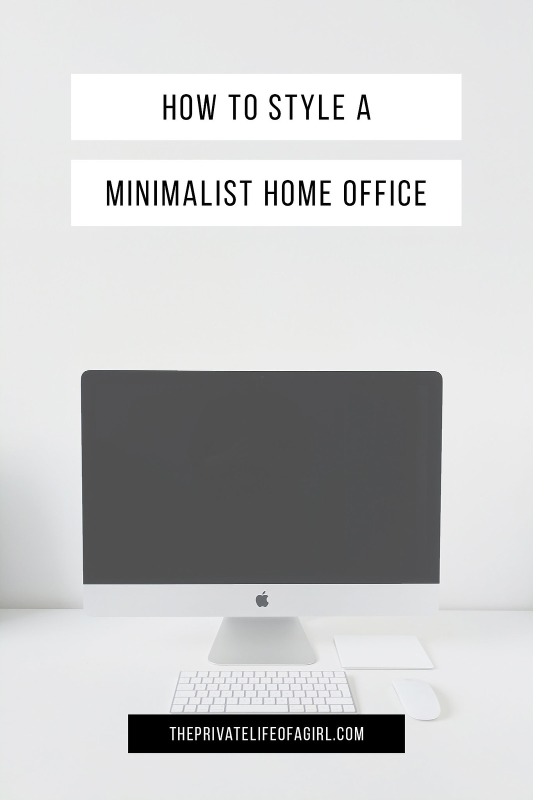Styling A Minimalist Home Office