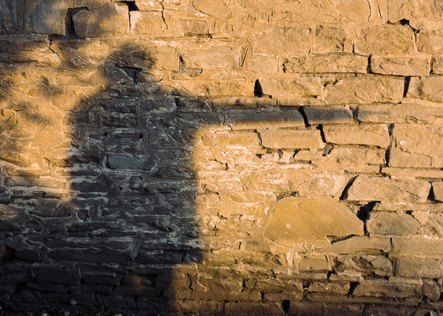 golden hour shadow reflection