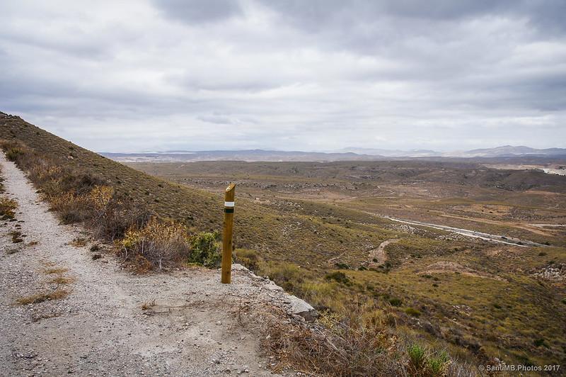 Paisaje interior de Cabo de Gata