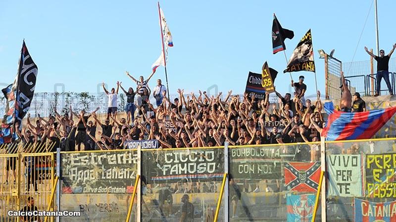 Tifosi rossazzurri oggi a Caserta