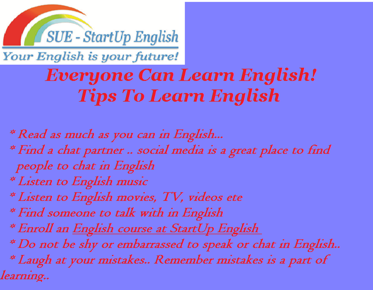 Tips & Strategies for Improving Your English 3