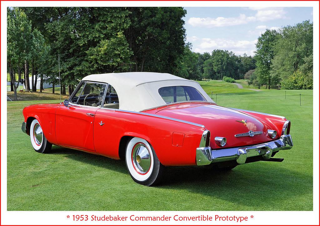 1953 Studebaker Commander Convertible Prototype