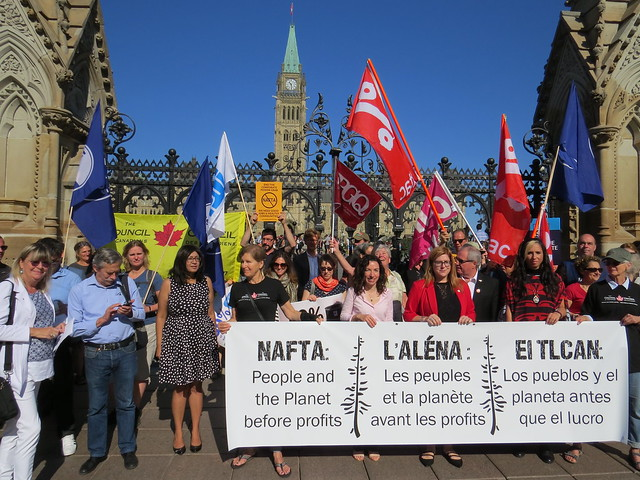 NAFTA: People and the Planet before Profits