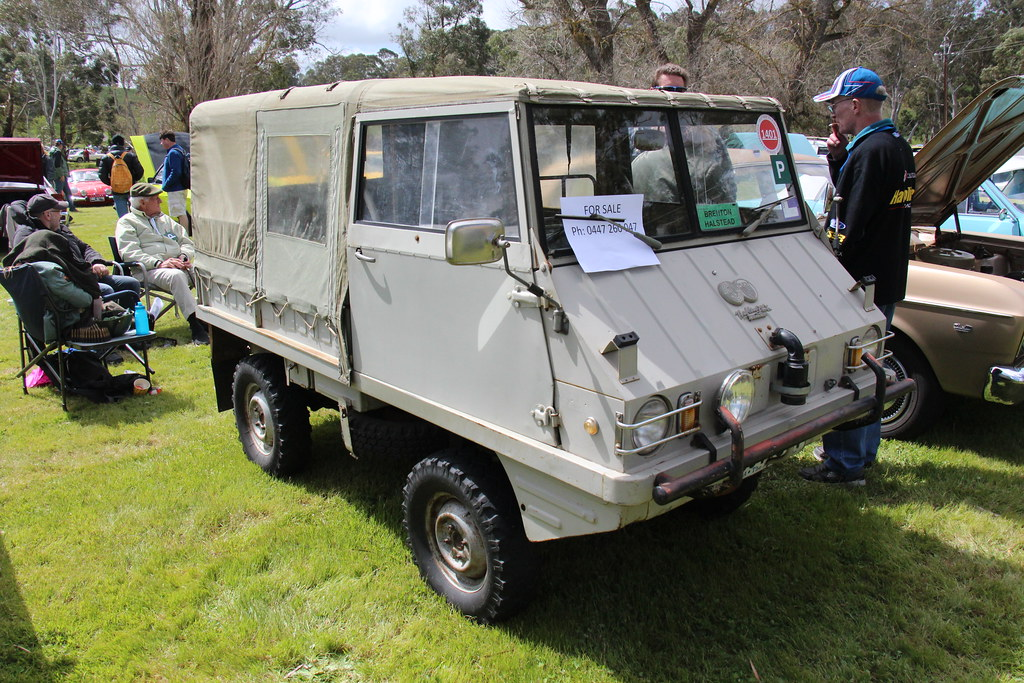 1966 Steyr Puch Haflinger 4x4 700ap This Small Four Wheel Flickr