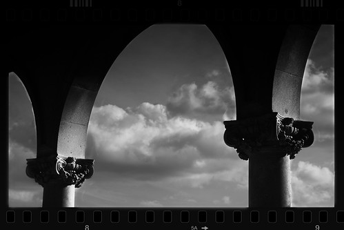 Black and White Columns and Arches | by Lex Photographic