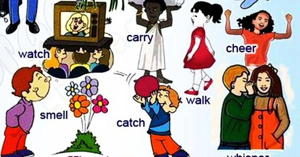 Vocabulary: Useful Verbs 5