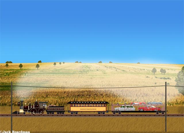 Adventure Train in Manitoba ©Jack Boardman