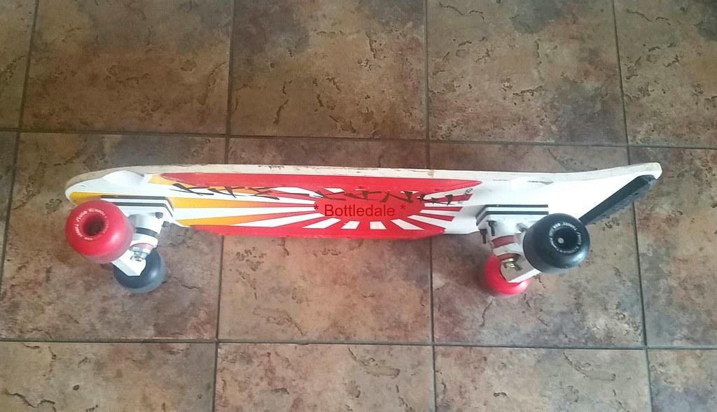 Vintage 80s Skateboard