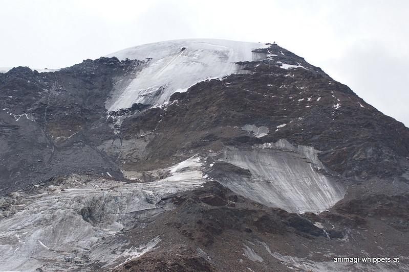 Der Gletscher, ein trauriger Anblick!