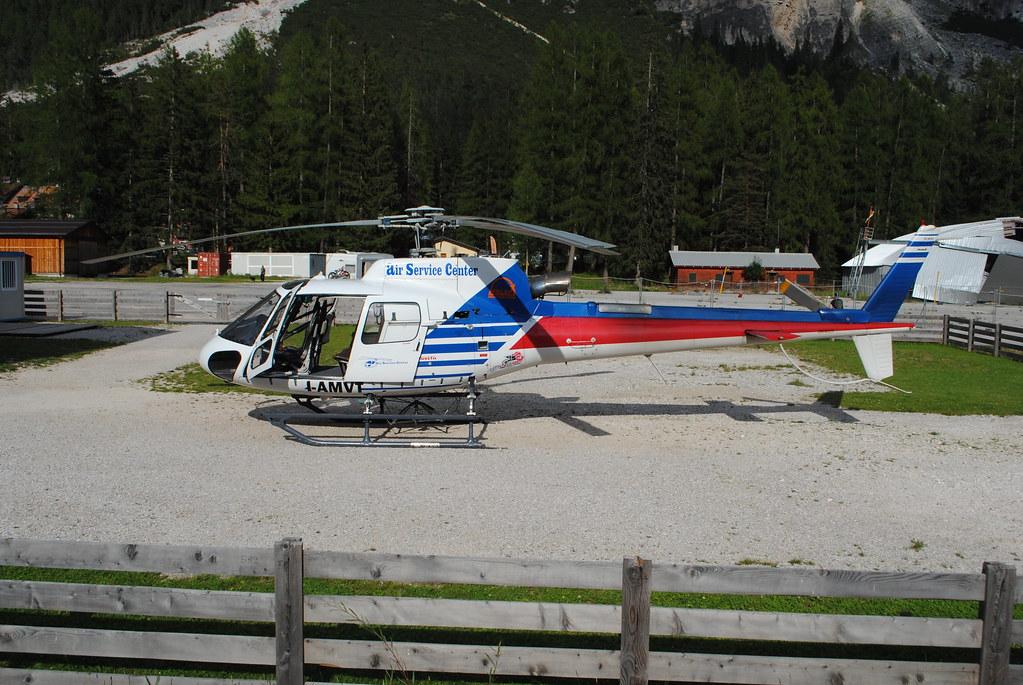 Air Service Center Cortina.Elicotteri Flickr