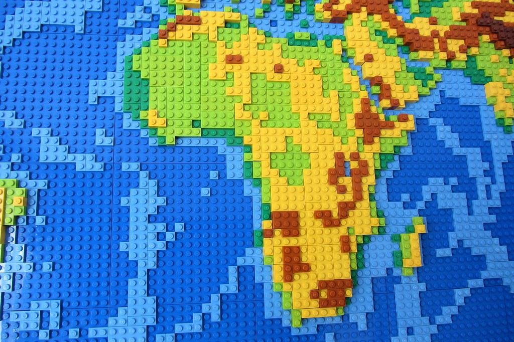 ... Dirks LEGO World Map 9 Africa | By Dirkb86