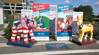Reston Station Elephant and Donkey | by Morton Fox