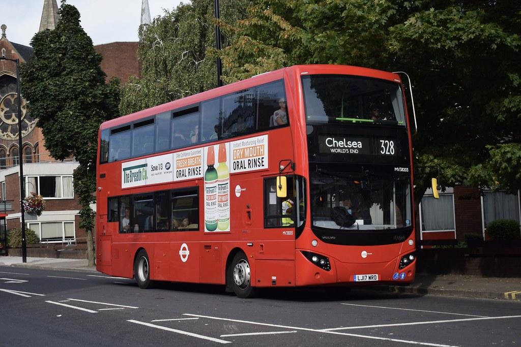 Tower Transit Mcv Evoseti Bodied Volvo B5lh Mv38203 Lj1
