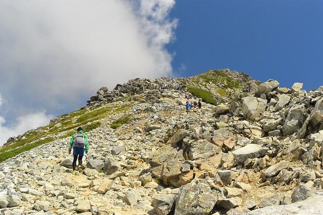 北アルプス立山登山