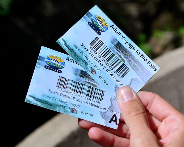 Tickets de entrada para el barco Hornblower