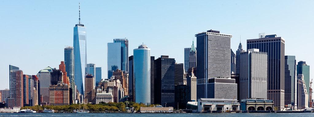 manhattan new york city nyc skyline manhattan mænˈhætən flickr