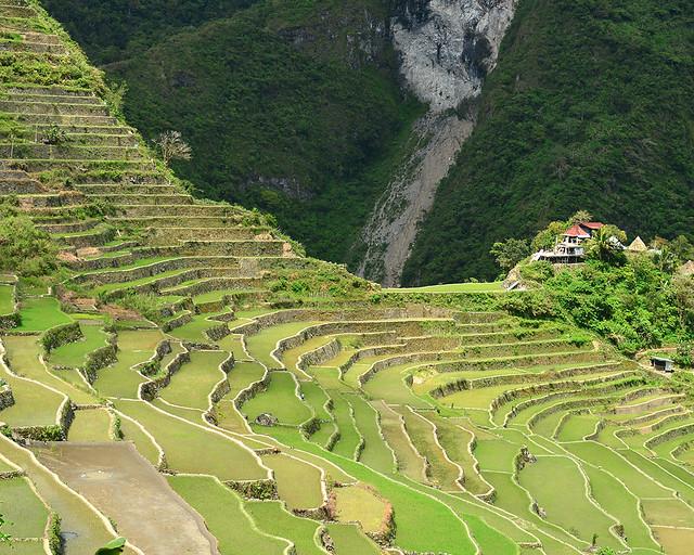 Espectacular panorámica de las terrazas de arroz de Batad en Filipinas