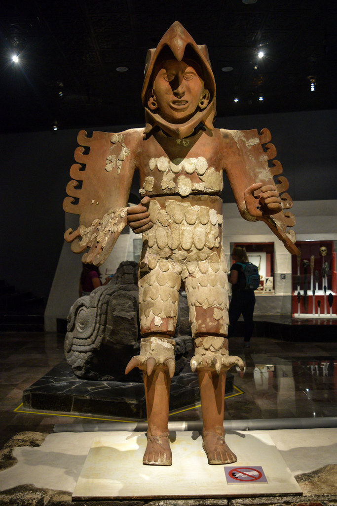 Huitzilopochtli statue recovered at Templo Mayor ...