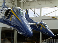 Two Planes of the Blue Angels