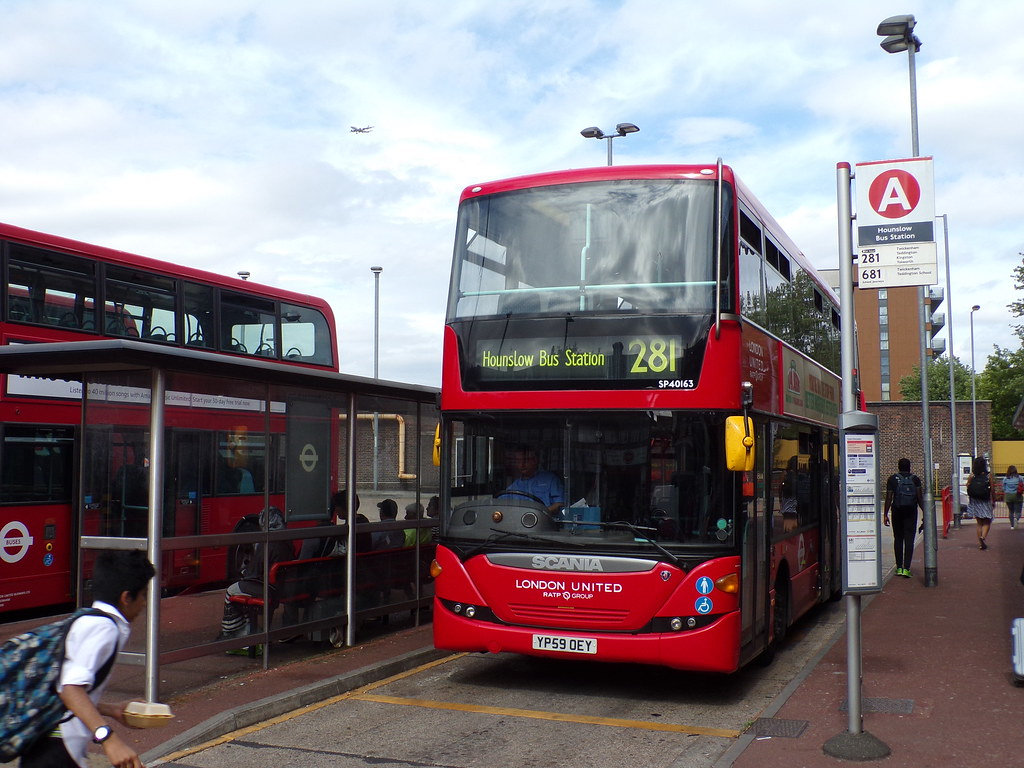 london united sp40163 (yp59oey) on route 281 at hounslow b… | flickr