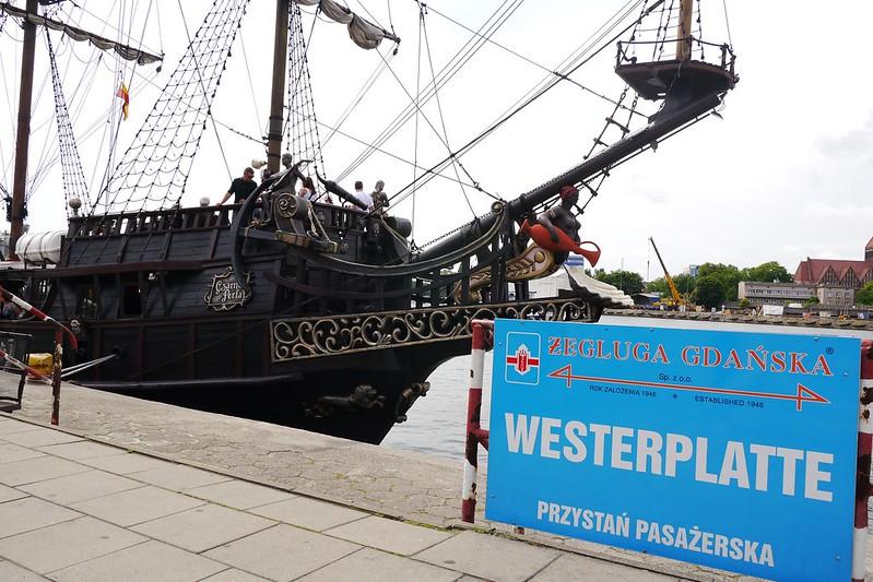 Barco a Westerplatte
