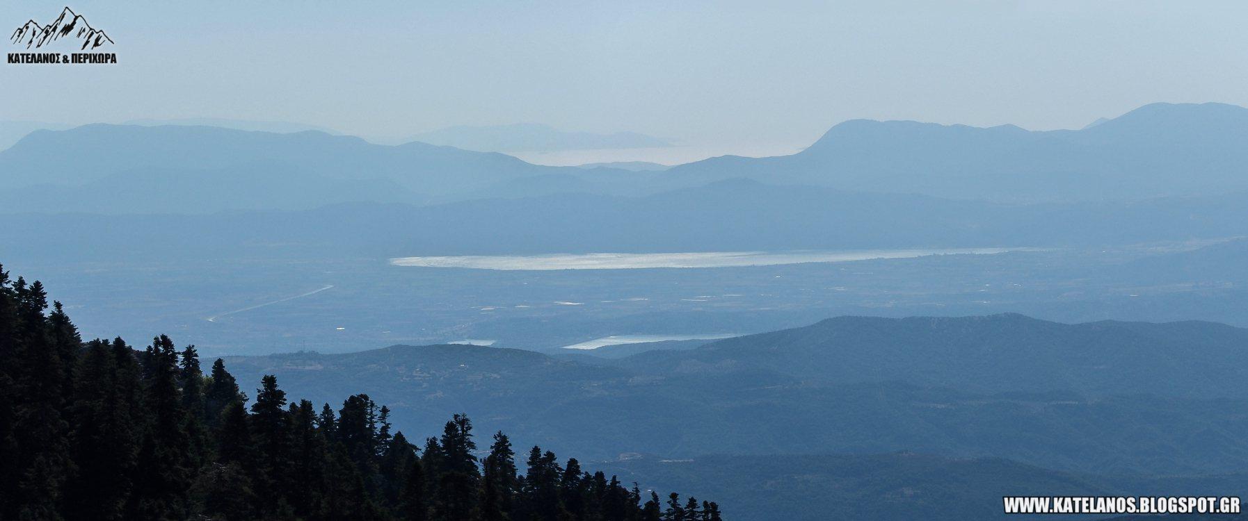 λιμνη οζερος