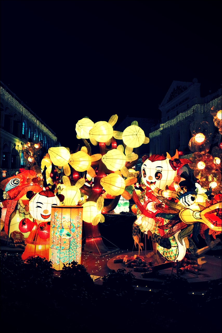 신년 장식-'마카오 둘러보기(Macau Sightseeing)'