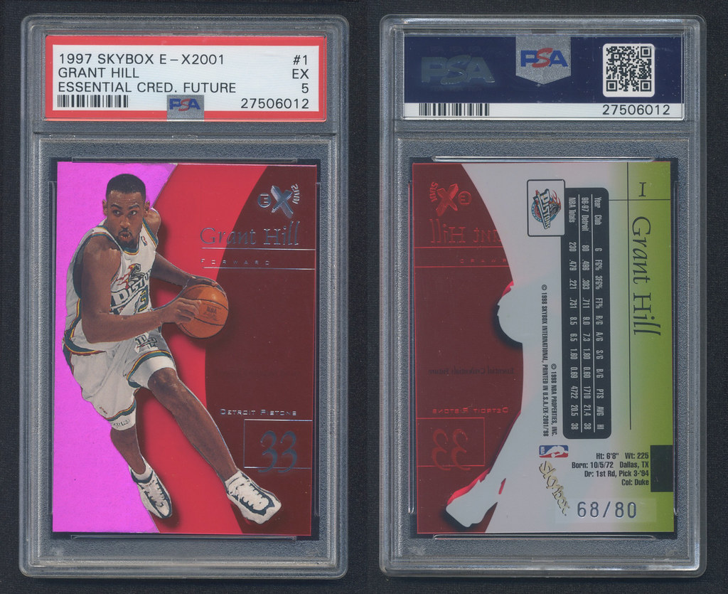 Cards back from PSA - 90's and LeBron RC's - Blowout Cards Forums