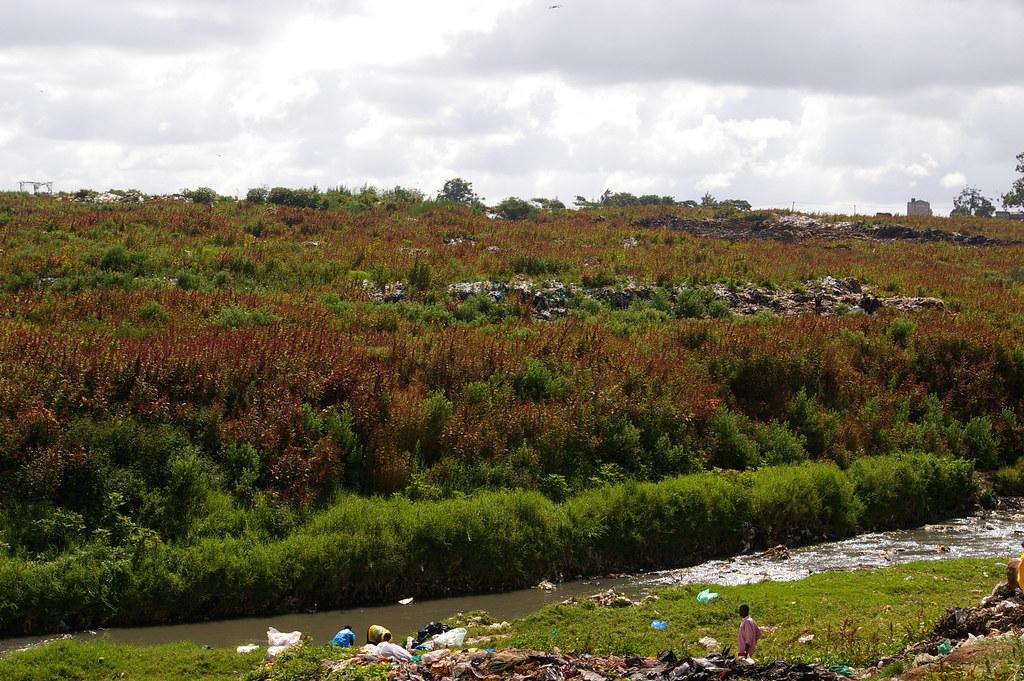 肯亞奈洛比一處垃圾掩埋場。圖片來源:Carlos Fernandez(CC BY-NC 2.0)