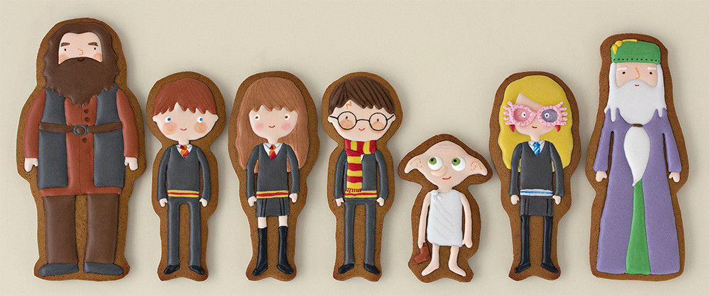 Galletas decoradas de Harry Potter