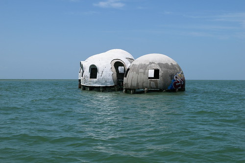 Cape Romano Dome House - Ten Thousand Island Reserve - Dolphin, Birding and Shelling Tour | by Haydn Blackey