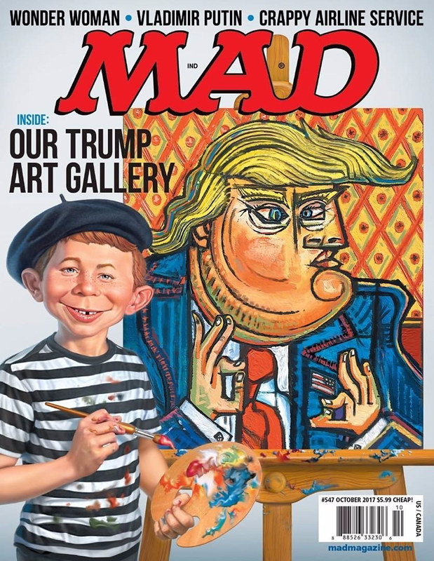 mad magazine our trump art gallery the current mad magaz flickr