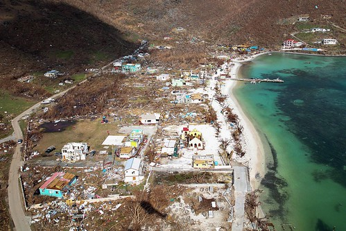Devastation of the island of Jost Van Dyke after hurricane Irma | by DFID - UK Department for International Development