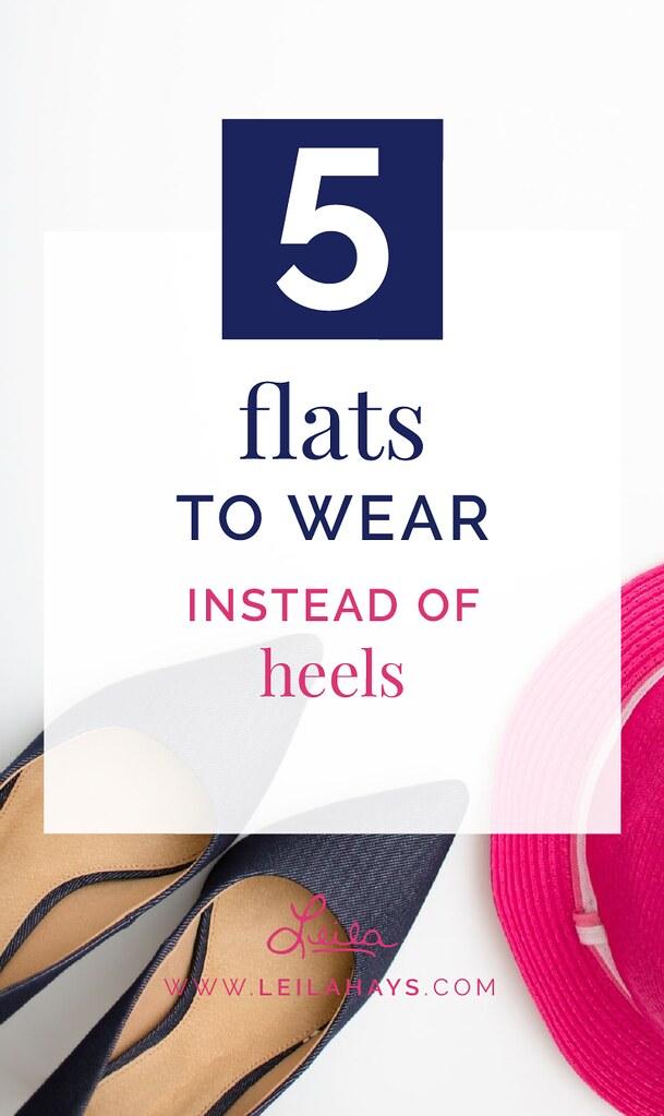 Flats to Wear Instead of Heels