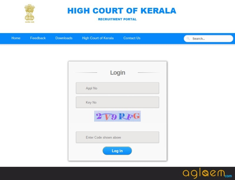 Kerala High Court Recruitment Admit Card 2017   Download Here