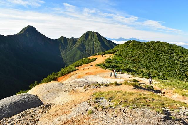 八ヶ岳登山 赤岳~中岳~阿弥陀岳