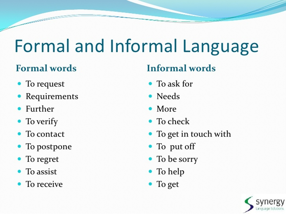 advantages of informal communication over formal communication This research compares formal and informal organizational communication structures, specifically focusing on salience, channel factors, and channel usage.