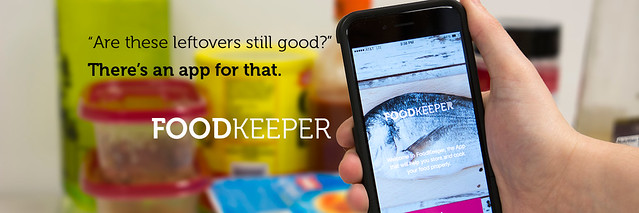 FoodKeeper application on handheld mobile device