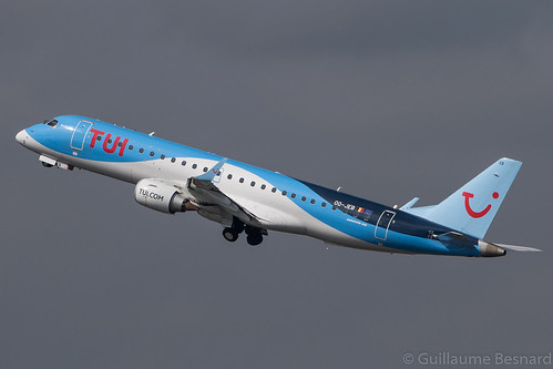 Embraer EMB-190 TUI Airlines Belgium OO-JEB cn 19000607 | by Guillaume Besnard Aviation Photography