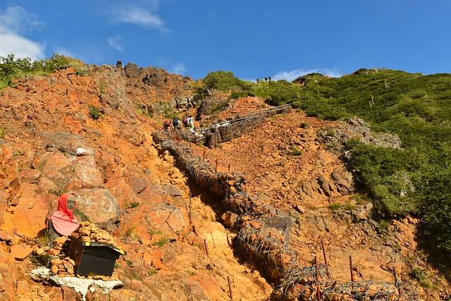 八ヶ岳登山 地蔵尾根のお地蔵様