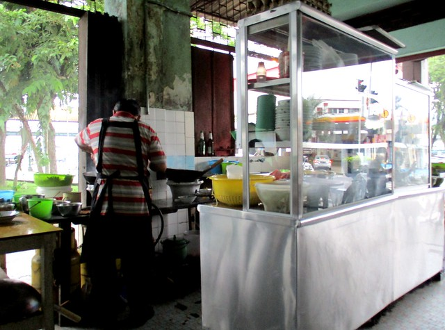 Wan-Cafe noodles stall