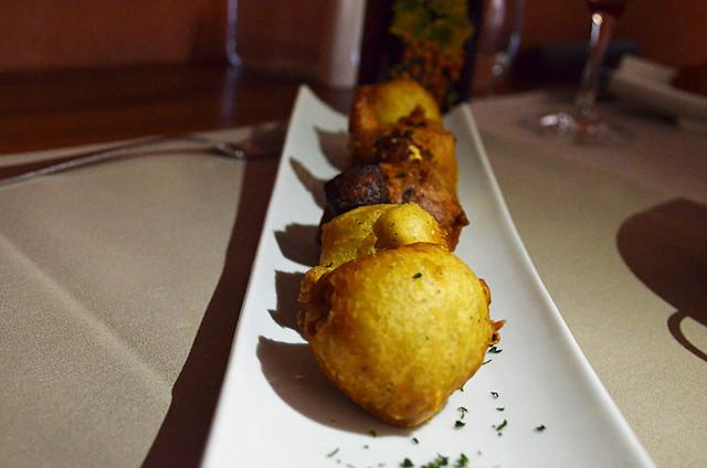 Cheese beignets, Osteria a Stalla Sischesse, Sisco, Corsica