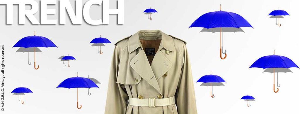 Trench Abbigliamento Vintage Angelo