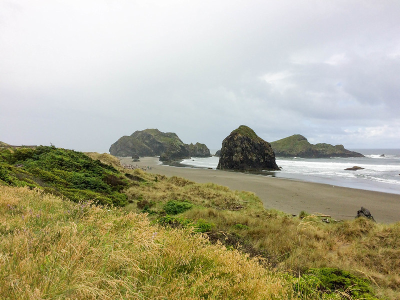Gold Beach, in Cape Sebastian State Park - South Oregon Coast - Highway 101