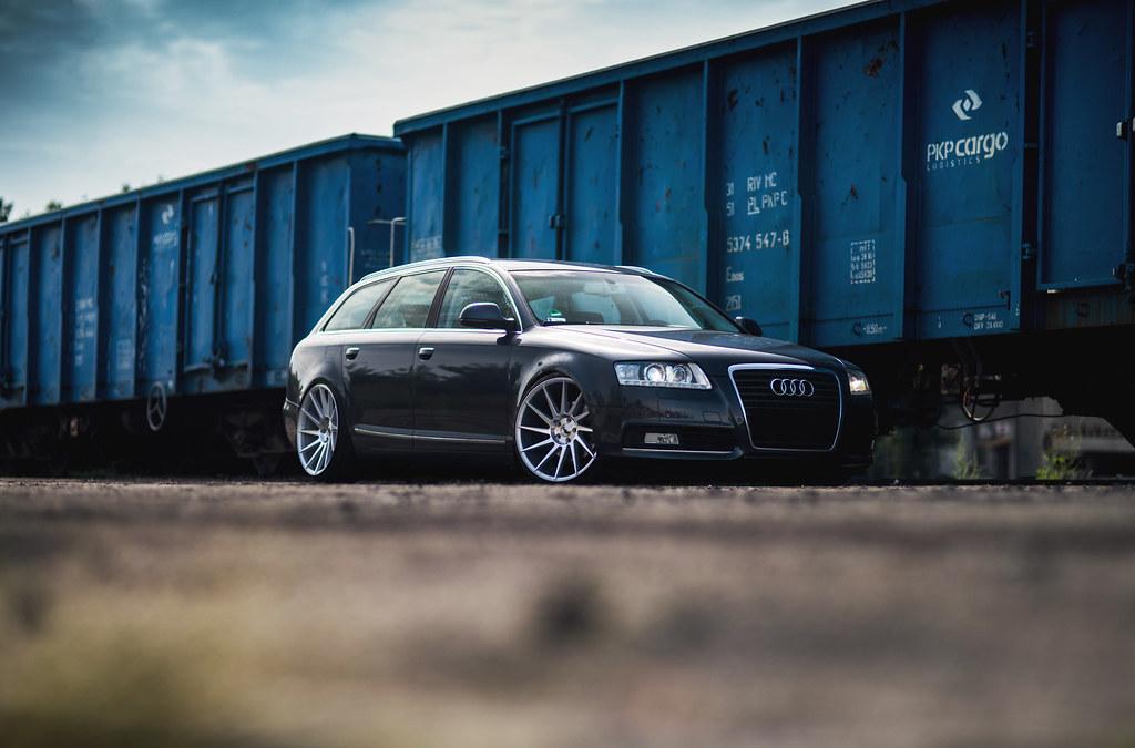 Audi A6 C6 Jr22 Front 20x10 Rear 20x11 Jr Wheels Flickr