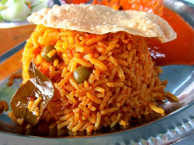 Bryani rice
