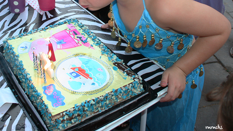 tarta de cumpleaños Peppa Pig